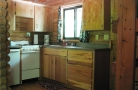 Kitchen In Lakeview Cabins