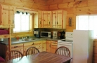 Kitchen In Woodland Cabins